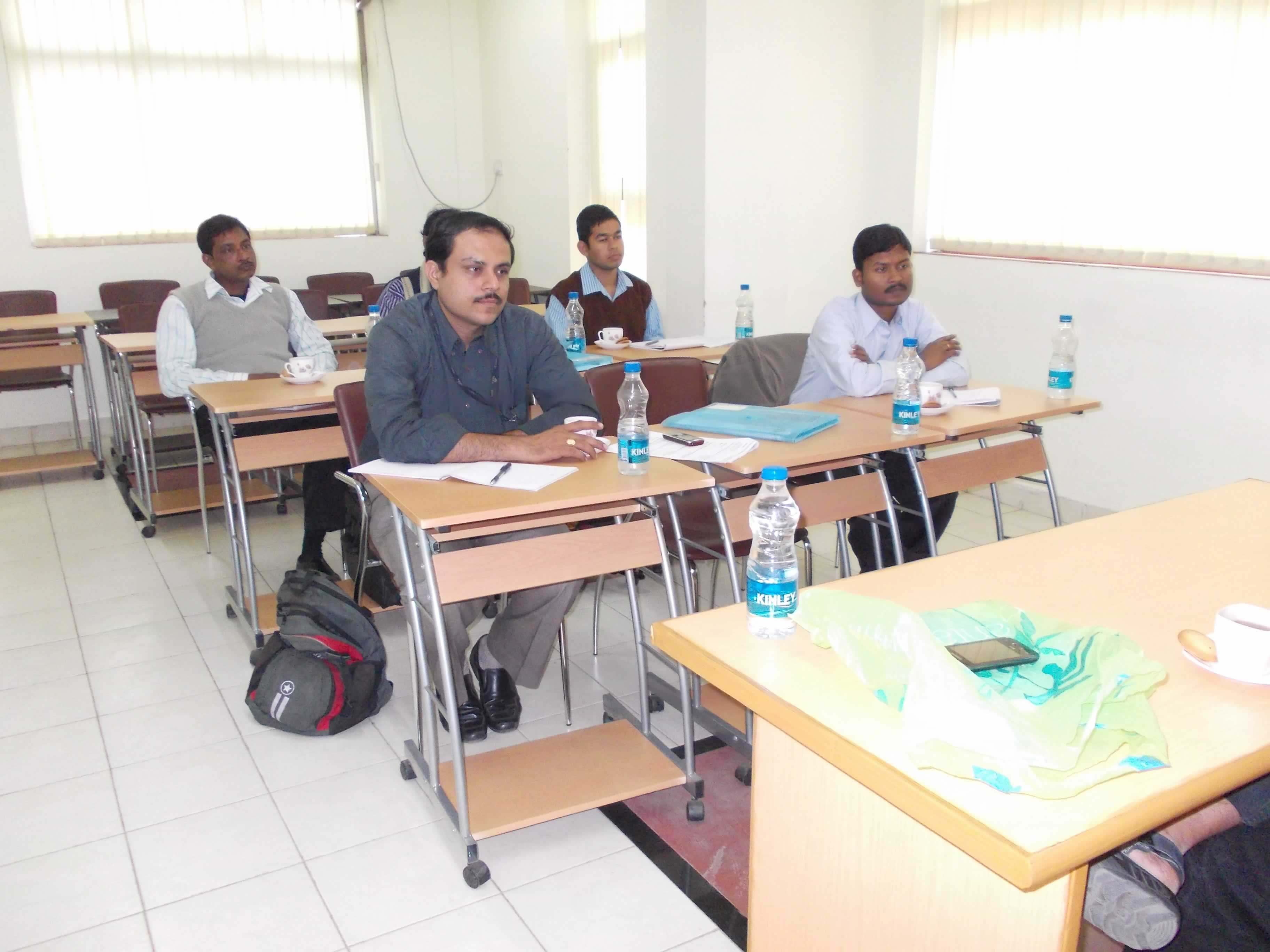 Class going on for 6 days Short Training Program on Solar PV for Energy Managers