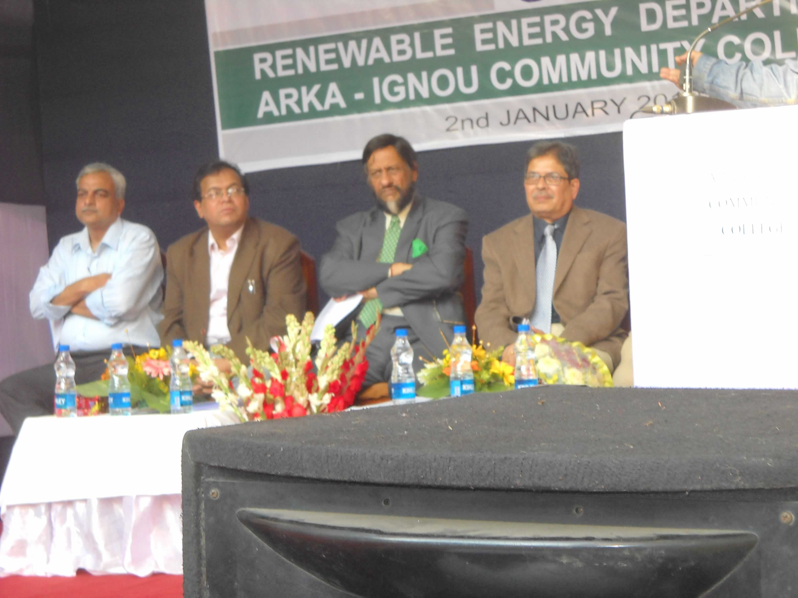 Dr.R.K.Pachauri & other Dignitaries in the dias.
