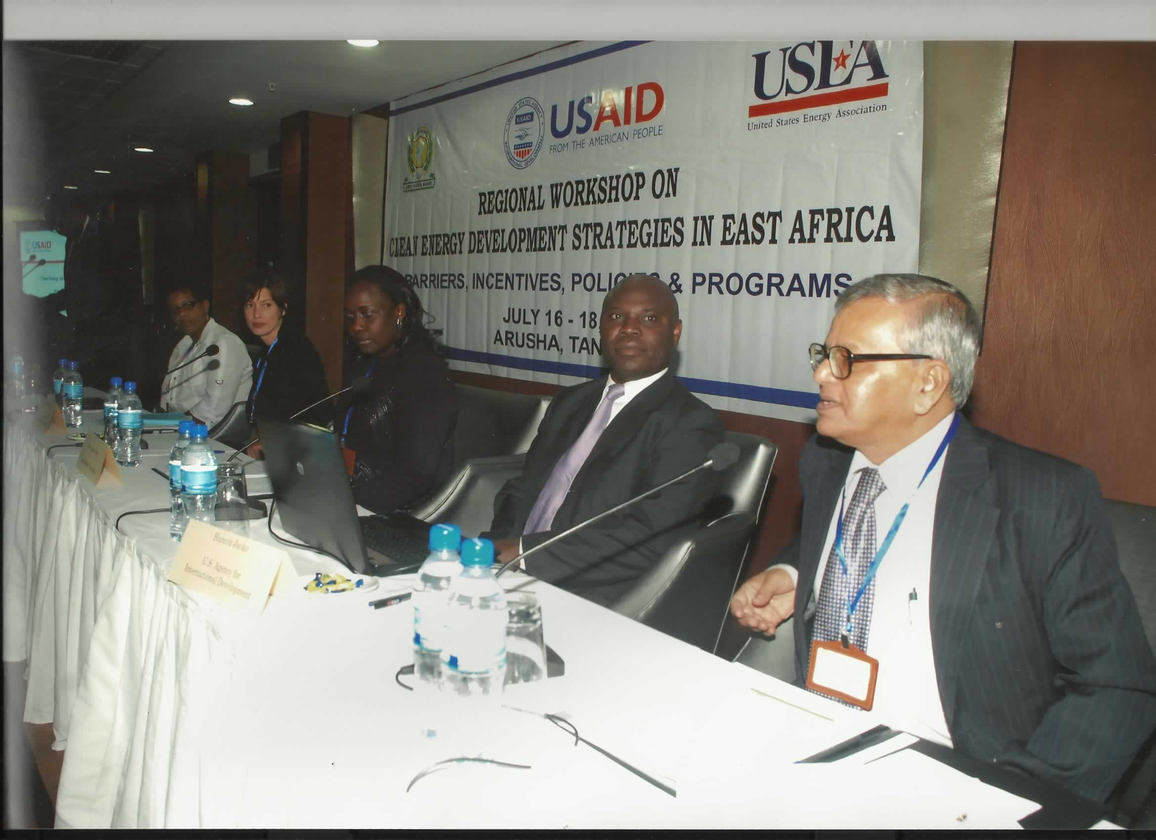 Dr.S.P.Gon Chaudhuri attending a Seminar in Tanzania recently.